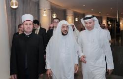 بالصور .. سفير خادم الحرمين يحتفي بوزير الشؤون الإسلامية بالعاصمة الألبانية