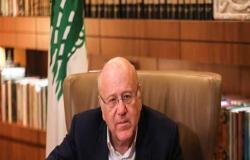رئيس الوزراء اللبناني يأمل معاودة انعقاد جلسات الحكومة قريبا