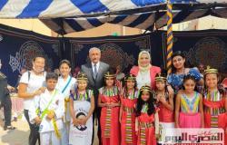 بأعلام مصرية وأزياء فرعونية.. تعليم «جمرك الإسكندرية» تحتفل بالمولد النبوي وانتصارات أكتوبر (صور)