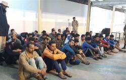 السلطات الأمنية الليبية تعلن القبض على 44 مصريا وإحالتهم إلى النائب العام (صور)