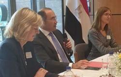 سفير مصر في برلين يستقبل نخبة من رجال الأعمال الألمان