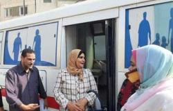 «حياة كريمة» : قوافل جامعة طنطا الطبية قدمت خدماتها العلاجية لـ 1158 مواطنًا بقطور
