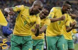جنوب أفريقيا تتفوق على منتخب مصر بفارق هدف واحد في الشوط الأول