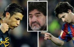 مارادونا يفضّل رونالدو على ميسي