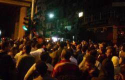 مجهولون يحطمون 4 سيارات شرطة خلال تظاهر جرين إيجل ببورسعيد