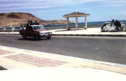 احتجاجات لسرايا الحدود الليبية بأوبارى وإغلاق المطار الدولى بالمدينة