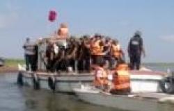 حملة أمنية ببحيرة المنزلة بدمياط