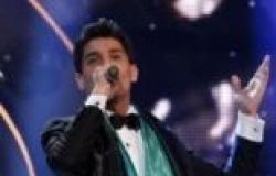 """وصول النجم الفلسطيني محمد عساف بعد فوزه بلقب """"أراب أيدول"""""""