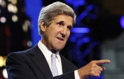 كيرى يصل إسرائيل فى مسعى لاستئناف المفاوضات الإسرائيلية الفلسطينية