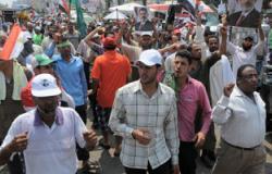 """مسيرة لـ""""الإخوان"""" بمشاركة سوريين بدمياط الجديدة"""