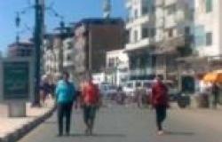 حملة في دمياط لغلق المحال التي يعمل بها سوريون داعمون للرئيس المعزول