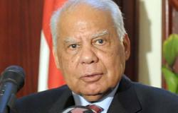 أسامة عقيل المرشح  لوزارة النقل الجديد يصل الوزراء للقاء الببلاوى