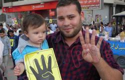 """بالصور.. مسيرة للإخوان بالفيوم احتجاجا على اعتقال """"سمية الشواف"""""""
