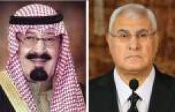السعودية: نرحب بعودة الهدوء والأمن لمصر.. وفلسطين قضية العرب الأولى