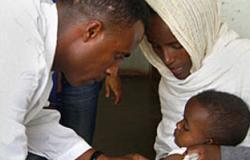 تطعيم مليون طفل فى غانا ضد مرض الحصبة