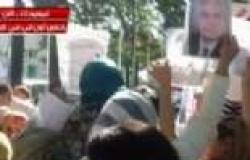 """""""ON TV"""" تنقل مظاهرات الجالية المصرية في نيويورك أمام مقر الأمم المتحدة"""