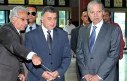 وزير الاستثمار يتفقد ميناء القاهرة البرى بالترجمان