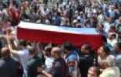 """تشييع جنازة أحد ضحايا فض اعتصام """"رابعة"""" بعد اختفاء جثمانه لشهرين"""