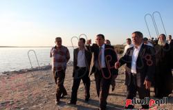 بالصور.. محافظ البحيرة يزور الأديرة القبطية بوادى النطرون