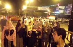 كفر الشيخ تعبر عن فرحتها بمحاكمة مرسى برفع صور السيسى