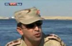 بالفيديو.. المتحدث العسكري: جميع قوات الجيش تتولى تأمين قناة السويس