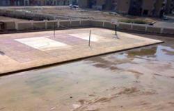 مدرسة إطسا الإعدادية بالفيوم مهددة بالانهيار على الطلاب