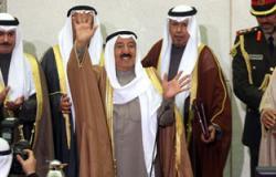 أمير الكويت يتلقى رسالة شفاهية من نظيره القطرى