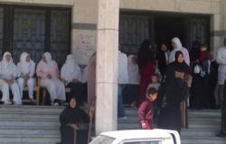 اعتصام ممرضات مستشفى سفاجا للمطالبة بتحسين الرواتب