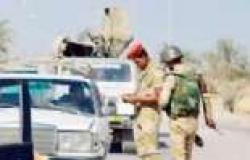 بالفيديو| الجيش يفجر سيارة مفخخة قبل وصولها لمعسكر الزهور بالشيخ زويد