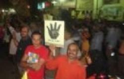 أول مسيرة ليلية للإخوان بالمنصورة بعد حادث تفجير مديرية الأمن