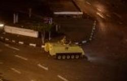 """انتشار أمني مكثف بـ""""التحرير"""" تمهيدا لإغلاقة قبل ساعات من بدء الاستفتاء"""
