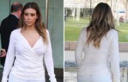 هل أعجبتك مؤخرة Kim Kardashian  في شكلها  الجديد؟