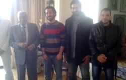 """"""" 6 أبريل"""" تلتقى محمد حسنين هيكل لبحث أزمة المعتقلين"""