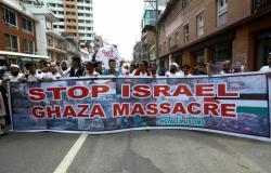 بالصور.. العالم يتظاهر ضد العدوان الإسرائيلي على غزة