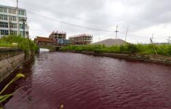 بالصور.. «نهر الدم» يفاجئ سكان قرية صينية