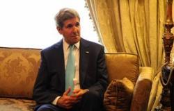 """""""جون كيرى"""": مستمرون فى جهودنا للتهدئة بغزة"""