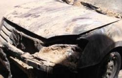 مجهولون يحرقون سيارة راعى كنيسة دلجا بالمنيا