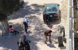 """بالصور.. مؤسسة إعمار مصر تطلق حملة """"مطروح نظيفة"""""""