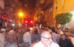 جنازة عسكرية لشهيد سيناء النقيب أحمد سلامة بمسقط رأسه بالمنوفية