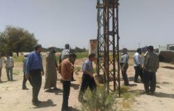 حملة مكبرة لإزالة آبار مزارع خضراوات تسرق مياه الشرب بطور سيناء
