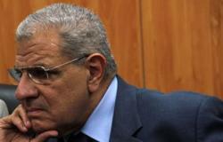 محلب ووزير الدفاع ورئيس الأركان يتقدمون الجنازة العسكرية لشهداء القضاء
