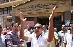 العاملون بالجامعة العمالية يعلقون اعتصامهم بعد تدخل نقيب المحامين