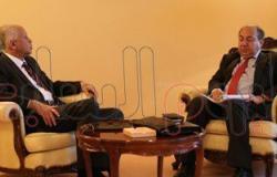 وزير خارجية اليمن يلتقى السفير المصرى يوسف الشرقاوى