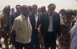 محافظ البنك المركزى اليمنى يصل إلى محافظة عدن