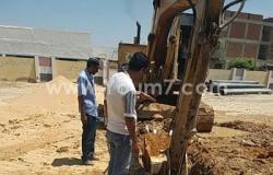 بالصور..متابعة تطوير شبكات الصرف ورفع المخلفات بحى العامرية فى الإسكندرية