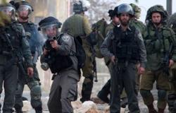 إصابة 9 فلسطينيين فى اشتباكات مع الجيش الإسرائيلى