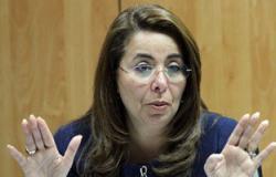 """وزيرة التضامن الاجتماعى لـ""""خالد صلاح"""": ليس كل سكان العشوائيات فقراء"""