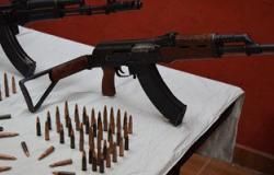 ضبط 3 أسلحة آلية بحوزة تاجر مواشى بالوادى الجديد