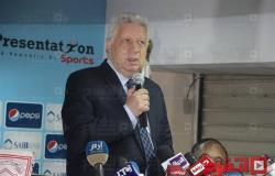مرتضى منصور يعد فريق اليد بمكافآت.. ويُطالب بمحاكمة ممدوح عباس