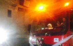 اشتعال النيران فى عقار تحت الإنشاء بالمقطم وانتقال 6 سيارات إطفاء